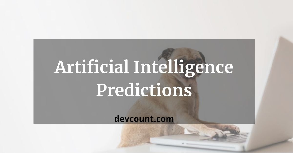 artificial intelligence predictions ml